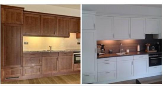 Eiken Keuken Beitsen : Keukenkastjes Schilderen Met Krijtverf Keukenkasten