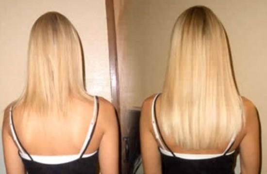 Hair weave laten zetten door middel van invlechten ...